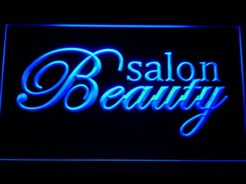 Beauty Salon Shop Nails NR Neon Light Sign